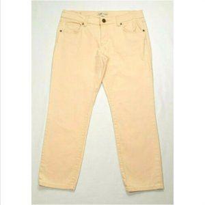 CAbi #329 Bree Cropped Capri Skinny Jeans 2653E1M